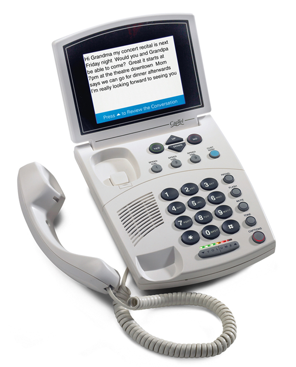 Captioned Telephone 840 PLUS (CapTel®) Image